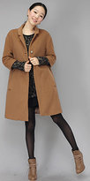 Camel Wool Coats by Beny & Hizzin