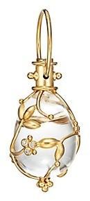 Temple St. Clair Tree of Life Rock Crystal, Diamond & 18K Yellow Gold Medium Vine Amulet