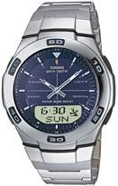 Casio Wave Ceptor – Men's Analogue/Digital Watch with Stainless Steel Bracelet – WVA-105HDE-2AVER