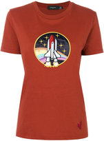 Coach Spaceship Applique T-shirt - women - Cotton - M