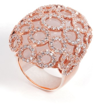 Carla Amorim Salt Flower Quartz and Diamond Ring