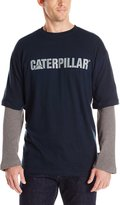 Caterpillar Men's Thermal Layered Long Sleeve Tee