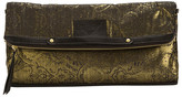 Cynthia Vincent Brocade Banker's Clutch