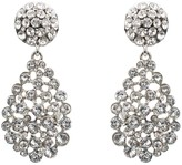 Oscar de la Renta Pavé Teardrop Earrings