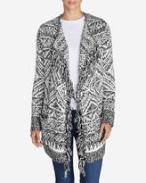 Eddie Bauer Women's Bronson Open Cardigan Sweater
