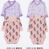 Uniqlo Baby Disney Collection Crewneck Onesie 2-pack
