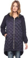 Juicy Couture Quilted Nylon Puffer Parka