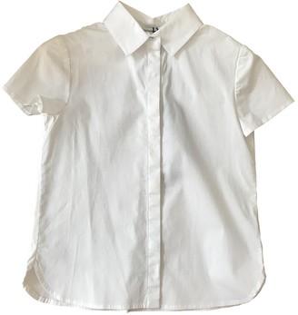 Dolce & Gabbana White Cotton Tops