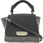 Zac Posen raw edge small tote bag