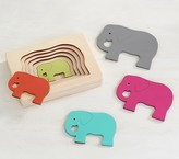 Pottery Barn Kids Wooden Elephant Puzzle