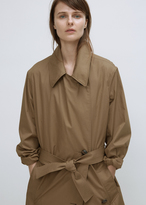 Lemaire tobacco trench coat