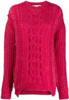 Stella McCartney chunky cable knit sweater