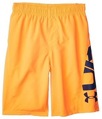 Under Armour Kids Icon Volley (Big Kids) (Black) Boy's Swimwear