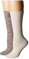 Steve Madden 2-Pack Button Crew Sock