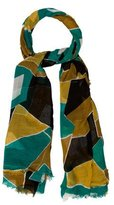 Burberry Multicolor Printed Scarf