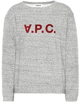 A.P.C. Printed cotton sweatshirt