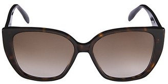 Alexander McQueen Iconic 58MM Butterfly Sunglass