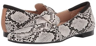 Dr. Scholl's Mercury (Black/White Snake) Women's Shoes