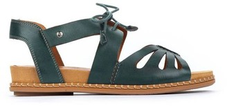 PIKOLINOS Leather Cutout Sandals - Marazul