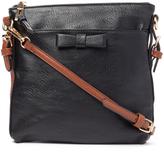 Kathy Ireland Black Crossbody Bag