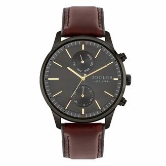 Joules Men's Analogue Quartz Watch with Leather Strap JSG010EBR