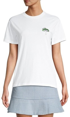 Ganni Mushroom Graphic T-Shirt