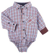Andy & Evan Infant Boy's Check Bodysuit