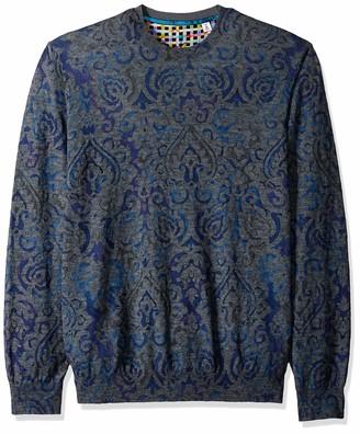 Robert Graham Men's Cairo Crew Neck Sweater