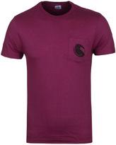 Cp Company Cranberry Watchviewer Pocket T-shirt