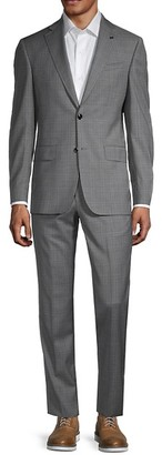 Ted Baker Checker Wool Suit