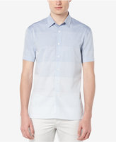 Perry Ellis Men's Ombré-Striped Short-Sleeve Shirt