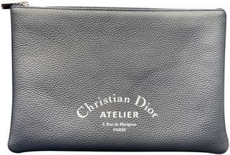 Christian Dior Navy Leather Small bags, wallets & cases
