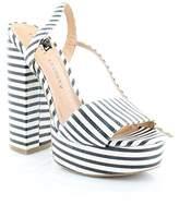 Chinese Laundry Women's Aries Stripe Platform Sandal,8 M US