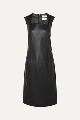 Bottega Veneta Leather Dress - Black