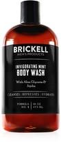 Brickell Invigorating Mint Body Wash 16 oz.