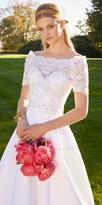 Camille La Vie Off The Shoulder Lace Wedding Dress
