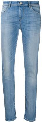 Emporio Armani Skinny Faded Jeans