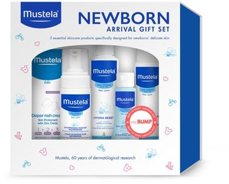 Mustela Newborn Arrival Gift Set, Baby Bath & Skin Care with Natural Avocado Perseose, 5 Items