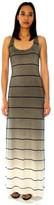 Saint Grace Sunset Stripe Maxi Tank Dress In Fifty Ombre Wash