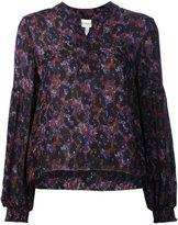 Derek Lam 10 Crosby floral print flared blouse