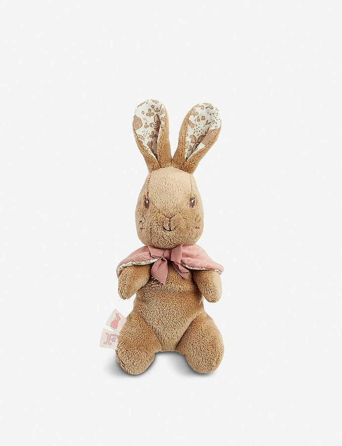 "OFFICIAL NEW 12/"" PETER RABBIT 2 SOFT PLUSH TOYS BENJAMIN PETER FLOPSY MOPSY"