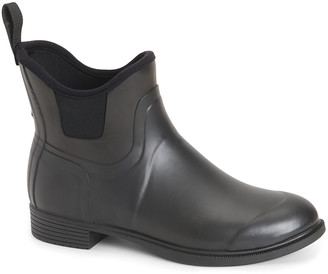The Original Muck Boot Company Women's Rain boots BLK - Black Derby Chelsea Boot - Women