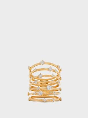 Fernando Jorge Troupe Diamond & 18kt Gold Ring - Womens - Gold