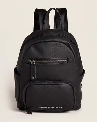 Kenneth Cole Reaction Black Collateral Vegan Backpack