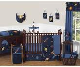 JoJo Designs Sweet Space Galaxy 11-Piece Crib Bedding Set