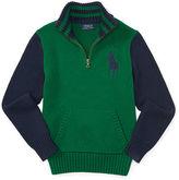 Ralph Lauren Big Pony Half Zip Sweater