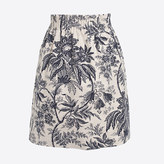 J.Crew Factory Printed dobby mini skirt