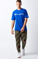 Champion All Over Script Jogger Pants