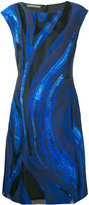 Alberta Ferretti patterned dress - women - Silk/Cotton/Polyamide/Polyester - 44