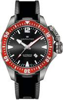 Hamilton Khaki Naval Frogmen Titanium Automatic Rubber-Strap Watch